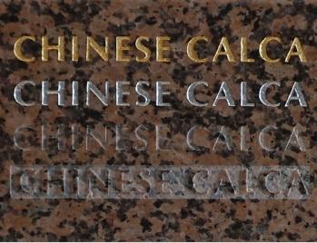 Chinese Calca