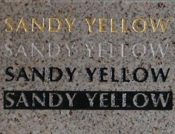 Sandy Yellow