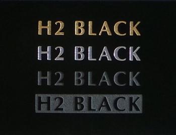 H2 Black