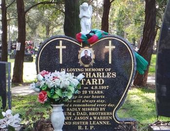 Lawn Headstone 10