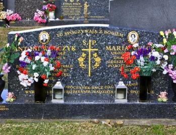 Lawn Headstone 1