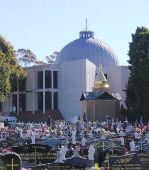 Common catholic symbols in australian cemeteries