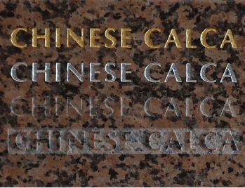 Chinese Calca