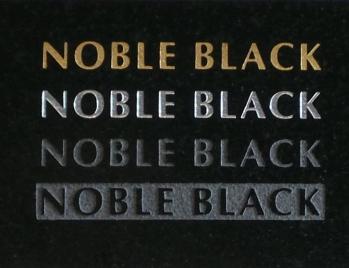 Noble Black