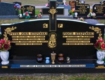 Lawn Headstone 8