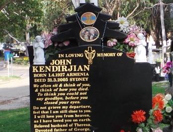 Lawn Headstone 11