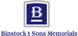 Binstock Memorials